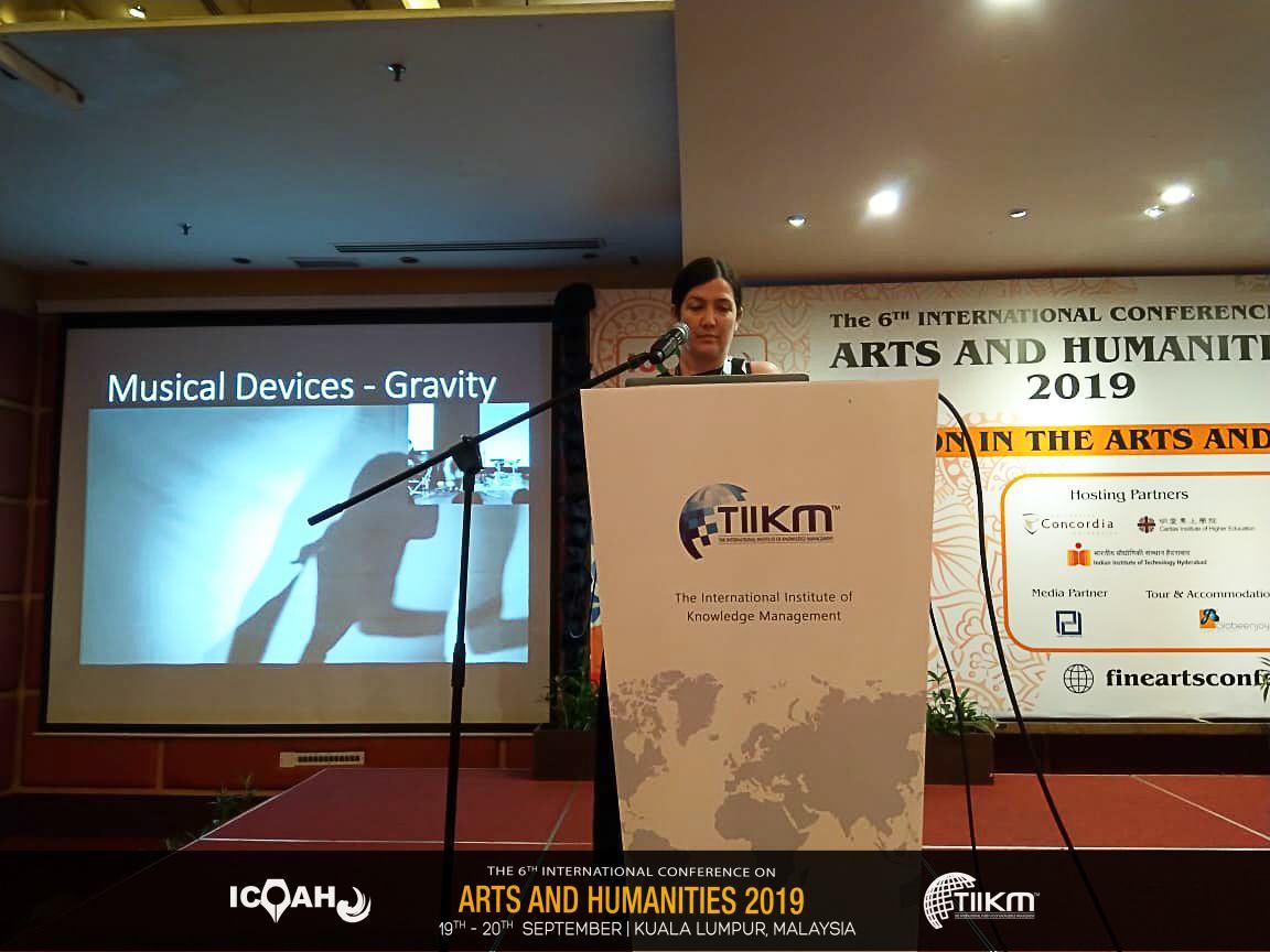 Speaking at ICOAH2019