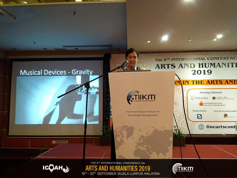 Speaking at ICOAH2019