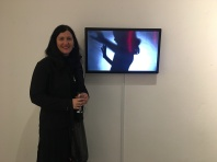 Donna Hewitt with #Me Too installation