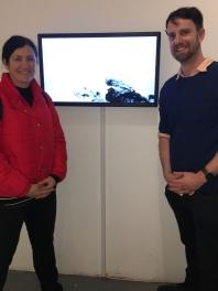 Donna Hewitt & Todd Fuller - Installation success